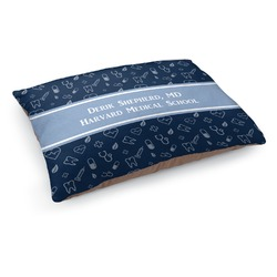 Medical Doctor Dog Bed (Personalized)