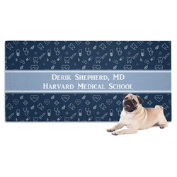Medical Doctor Pet Towel (Personalized)