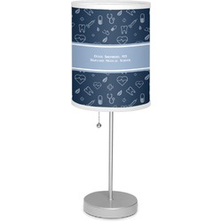 """Medical Doctor 7"""" Drum Lamp with Shade Polyester (Personalized)"""