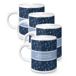 Medical Doctor Espresso Mugs - Set of 4 (Personalized)