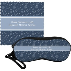 Medical Doctor Eyeglass Case & Cloth (Personalized)