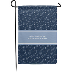 Medical Doctor Garden Flag - Single or Double Sided (Personalized)