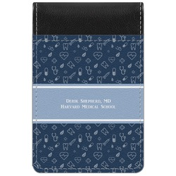 Medical Doctor Genuine Leather Small Memo Pad (Personalized)