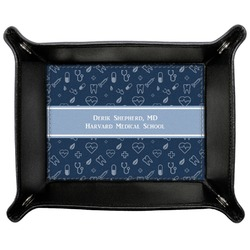 Medical Doctor Genuine Leather Valet Tray (Personalized)