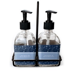 Medical Doctor Glass Soap & Lotion Bottles (Personalized)