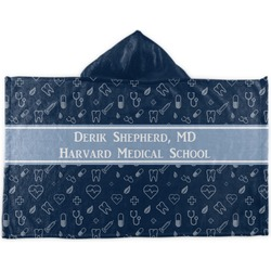 Medical Doctor Kids Hooded Towel (Personalized)