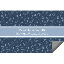 Medical Doctor Indoor / Outdoor Rug (Personalized)