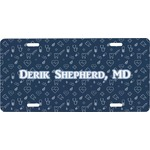 Medical Doctor Front License Plate (Personalized)