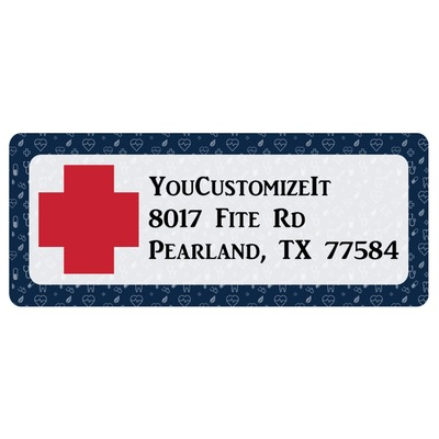 Medical Doctor Return Address Labels (Personalized)