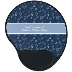 Medical Doctor Mouse Pad with Wrist Support
