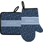 Medical Doctor Oven Mitt & Pot Holder (Personalized)