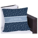 Medical Doctor Outdoor Pillow (Personalized)