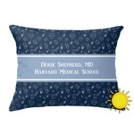Medical Doctor Outdoor Throw Pillow (Rectangular) (Personalized)