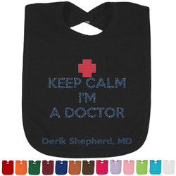 Medical Doctor Baby Bib - 14 Bib Colors (Personalized)