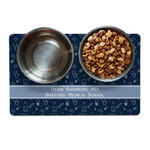 Medical Doctor Dog Food Mat (Personalized)