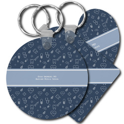 Medical Doctor Plastic Keychains (Personalized)