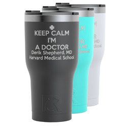 Medical Doctor RTIC Tumbler - Black (Personalized)