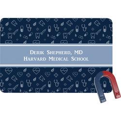 Medical Doctor Rectangular Fridge Magnet (Personalized)