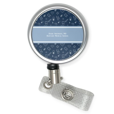 Medical Doctor Retractable Badge Reel (Personalized)