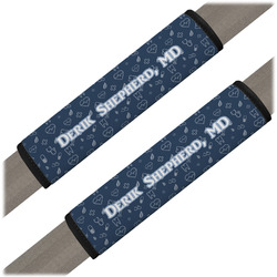 Medical Doctor Seat Belt Covers (Set of 2) (Personalized)
