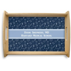 Medical Doctor Natural Wooden Tray (Personalized)