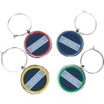 Medical Doctor Wine Charms (Set of 4) (Personalized)
