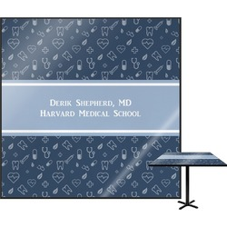 Medical Doctor Square Table Top (Personalized)