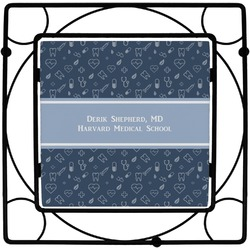 Medical Doctor Square Trivet (Personalized)