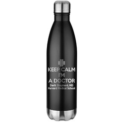 Medical Doctor Water Bottle - 26 oz. Stainless Steel (Personalized)
