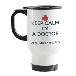 Medical Doctor Stainless Steel Travel Mug with Handle