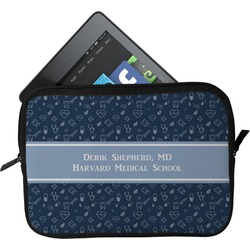 Medical Doctor Tablet Case / Sleeve (Personalized)