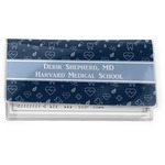 Medical Doctor Vinyl Check Book Cover (Personalized)
