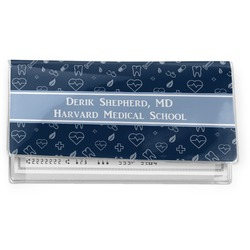 Medical Doctor Vinyl Checkbook Cover (Personalized)