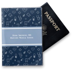 Medical Doctor Vinyl Passport Holder (Personalized)