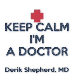 Medical Doctor Graphic Decal - Custom Sized (Personalized)