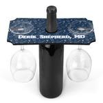 Medical Doctor Wine Bottle & Glass Holder (Personalized)