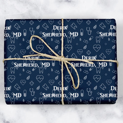 Medical Doctor Wrapping Paper (Personalized)