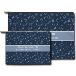 Medical Doctor Zipper Pouch (Personalized)