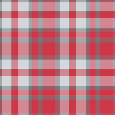 Red & Gray Plaid Wallpaper & Surface Covering