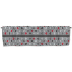 Red & Gray Polka Dots Valance (Personalized)