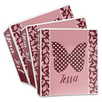 Polka Dot Butterfly 3-Ring Binder (Personalized)