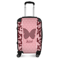 Polka Dot Butterfly Suitcase (Personalized)
