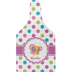 Polka Dot Butterfly Cheese Board (Personalized)