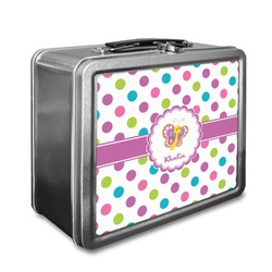 Polka Dot Butterfly Lunch Box (Personalized)
