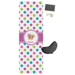 Polka Dot Butterfly Yoga Mat (Personalized)