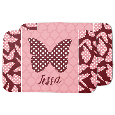 Polka Dot Butterfly Dish Drying Mat (Personalized)