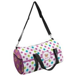 Polka Dot Butterfly Duffel Bag - Multiple Sizes (Personalized)