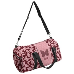 Polka Dot Butterfly Duffel Bag (Personalized)