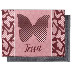 Polka Dot Butterfly Microfiber Screen Cleaner (Personalized)