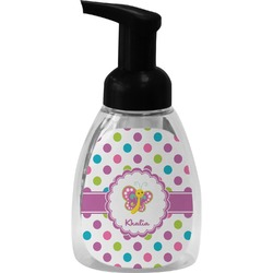Polka Dot Butterfly Foam Soap Dispenser (Personalized)